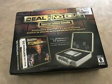 Deal Or No Deal Special Edition Bundle Game + Travel Case for Nintendo DS NEW
