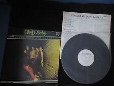 Dead Boys Young Loud And Snotty Japan Promo White Label Vinyl LP 1977 Punk CBGB