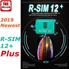RSIM 12+ 2019 R-SIM SUP Nano Card fits iPhone X/8/7/6/6S 4G LTE IOS 12 11