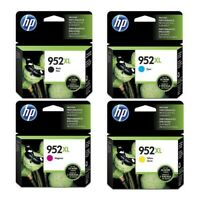 New Genuine HP 952XL Cartridges  Black XL,Yellow XL,Cyan XL,Magenta XL EXP/2021