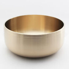 YEIN Korean Handmade Brassware Tableware Brass Big Dishes Bowls Plate