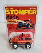 Mn95 Mint On Card Vintage 80'S Stomper Red Ford Bronco 4X4 Nos Find!