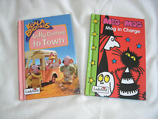 Two Ladybird Books, The Koala Brothers Lolly Comes to Town & Meg and Mog- Meg in