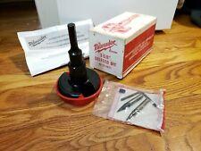 "New listing Milwaukee 3-5/8"" Selfeed Bit 48-25-3621 w/ Original box, parts, instructions"