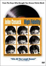 Dvd - Comedy - High Fidelity - John Cusack - Catherine Zeta-Jones - Todd Louiso