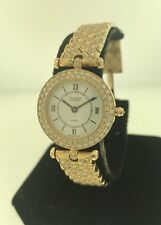 Van Cleef & Arpels Classique Yellow Gold Diamond Bezel & Bracelet Ladies Watch
