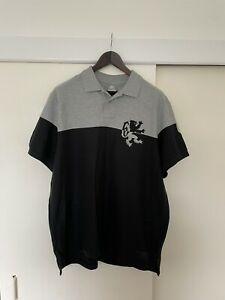 Nike Lebron Polo Short Black Grey XXL