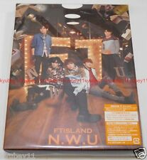 New FTISLAND N.W.U First Limited Edition Type A CD DVD Photobook Card Japan F/S