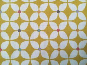 """""""ZAP """" Prestigious Textiles Fabric BUTTERSCOTCH Colourway PER METRE"""