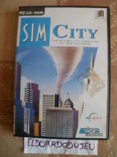 ELDORADODUJEU >>> SIM CITY L'ORIGINAL 1er DU NOM Pour PC Anglais CD COMME NEUF