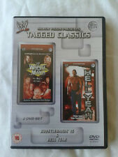WWE Tagged Classics - Wrestlemania 15 & Hell Yeah DVD's WWF Rare