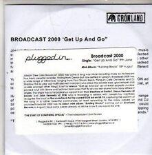 (CB917) Broadcast 2000, Get Up And Go - DJ CD