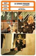FICHE CINEMA : LE GRAND FRISSON - Mel Brooks 1977 High Anxiety