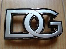 DG Design 2 tones Silver and Silver color Belt Buckle