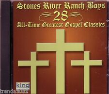 Stones River Ranch Boys All Time Greatest Gospel Classics King Records CD Best