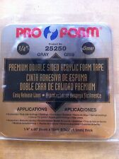 """Pro-Form Double Sided Attachment Tape 1/4"""" x 60'"""