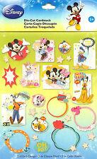 Disney Mickey & Friends 52 Pieces Scrapbook Die Cuts EK Success NEW