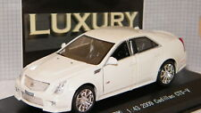 CADILLAC CTS-V 2009 BLANCHE DE LUXURY SCALE 1.43