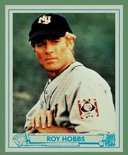 NEW Set of 4 ROY HOBBS ~Robert Redford New York Knights BB Rookie Card + BONUS