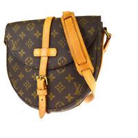 Auth Louis Vuitton Monogram Chantilly MM M51233 Shoulder Bag Monogram 31GA621