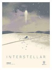 INTERSTELLAR MOVIE POSTER 1 Sided ORIGINAL IMAX MINI 12x16 MATTHEW MCCONAUGHEY