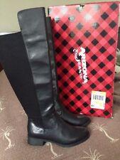 Ladies Size 6 Arizona Jean Co. Black Riding Boots $90 Retail