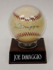 Signed MLB Rawlings Baseball Joe DiMaggio New York Yankees PSA/DNA B4027