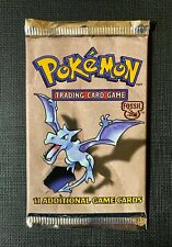 (X1) Pokemon Booster English Pack Fossil Set Factory Sealed