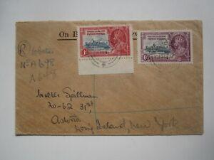 1935 BASUTOLAND COVER to USA