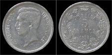 Albert I 5 frank (1 Belga) 1933 FR-pos B