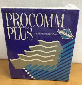 PROCOMM PLUS Intuitive Communications Data Storm Software PC -New Sealed