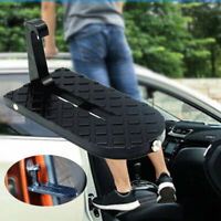Car Doorstep Pedal Easy Access Rooftop Roof-rack Hook Foot Pegs Treadle ladder
