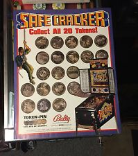 ORIGINAL WILLIAMS SAFECRACKER POSTER