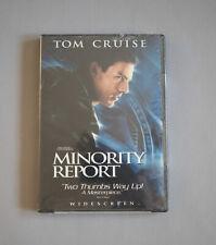 Minority Report, Tom Cruise, Dvd, Widescreen, New, Sealed