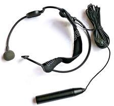 Pro 5m cord XLR 3Pin 48V Phantom Power Headset Head wear Condenser Microphone