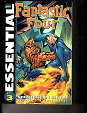 Essential Fantastic Four Vol # 3 Marvel Comics TPB Graphic Novel Comic Book TD5