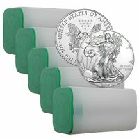 2017 Silver Eagle 1 oz American Silver Coin | Lot of 100 in Sealed US Mint Tubes