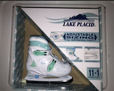 Lake Placid Adjustable Child Ice Skates Girl'S Size 11-1