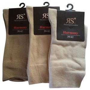 6 Paar Socken Pia RS Harmony Damen Herrensocken XXXL Übergrössen bis 54