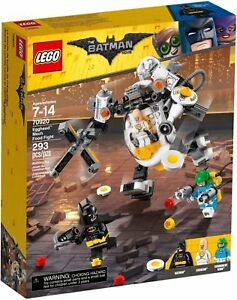 70920 EGGHEAD MECH FOOD FIGHT lego legos set NEW DC condiment king BATMAN MOVIE