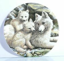 Sammelteller  The Collectors Treasury  Arctic Wolf Family  Zertifikat  OVP