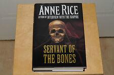 The Servant of the Bones - Anne Rice (Hardback, 1996) 1st united kingdom ed