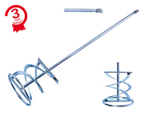 PROFESSIONAL 120 x 600mm Mixing Paddle SDS Plus Stirrer Whisk HEAVY DUTY