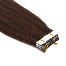 """7A Seamless Tape in Skin Weft Remy Human Hair Extensions USA Stock 16""""18""""20""""22"""""""