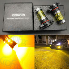 NEW 2x H16 5202 2504 3000K Yellow 100W High Power CREE LED Fog Light Bulb DRL