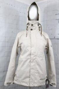 686 Women's Smarty Spellbound Insulated Snow Jacket Large Bone Diamond New 2020