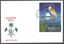 MALDIVES. 2000. COVER. BIRDS – HERON.