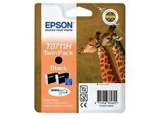 4 Epson  T0711H 2 Pack de 2 unid. à 11,1 ml