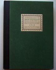 1938 Thomas Jefferson High School Monticello Yearbook Richmond VA