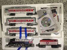 LIONEL PHILLIES Steam Berkshire Locomotive & Passenger Car Electric Train Set